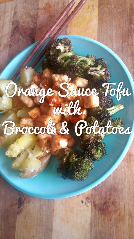orange sauce tofu