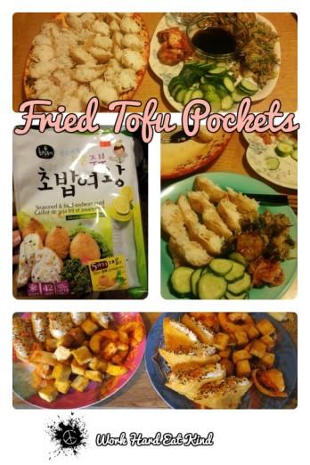 Fried Tofu Pocket Pinterest Image